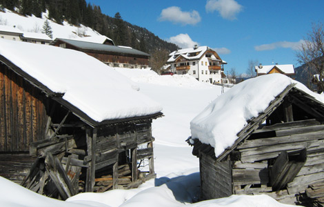 Winter in St. Martin in Thurn